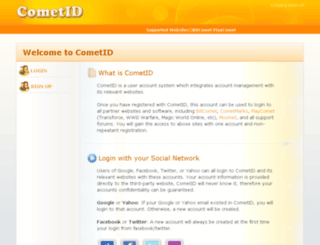 cometid.com screenshot