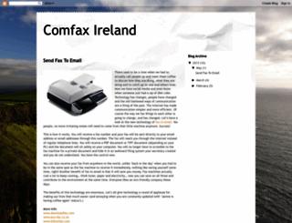comfax-ireland.blogspot.com screenshot