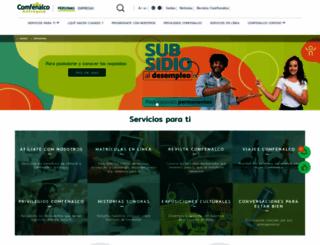 comfenalcoantioquia.com screenshot