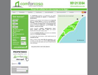 comforcasa.com screenshot