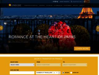 comfort-tours.com screenshot