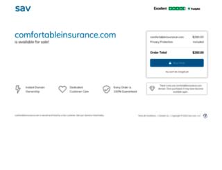 comfortableinsurance.com screenshot
