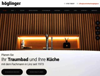 comfortbad-hoeglinger.com screenshot