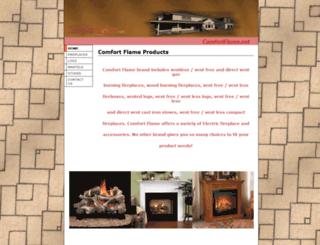 comfortflame.net screenshot