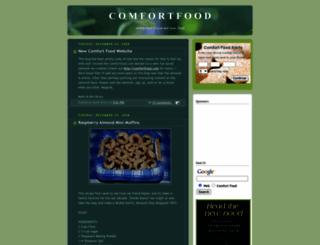 comfortfood.blogspot.com screenshot