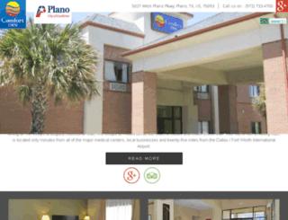 comfortinnplano.com screenshot