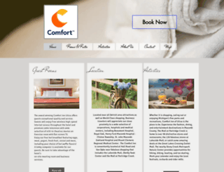 comfortinnutica.com screenshot