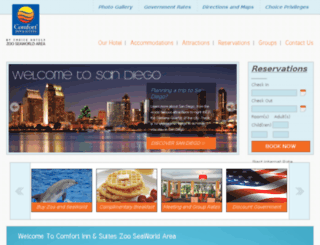 comfortinnzoo.com screenshot