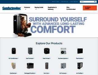 comfortmaker.com screenshot