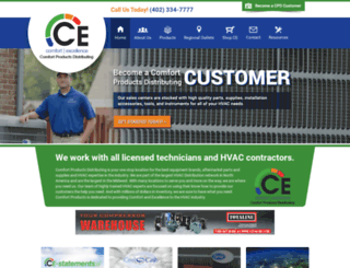 comfortproducts.carrierenterprise.com screenshot