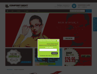 comfortsight.ca screenshot