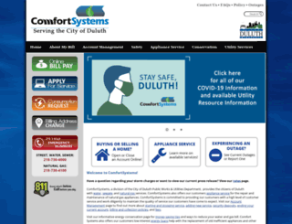 comfortsystems.ws screenshot