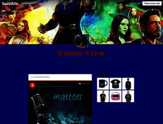comic-view.tumblr.com screenshot