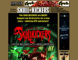 comic.skullkickers.com screenshot