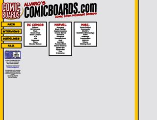comicboards.com screenshot