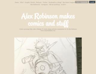 comicbookalex.com screenshot