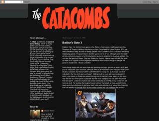 comicbookcatacombs.blogspot.com screenshot