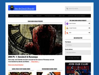 comicbookherald.com screenshot