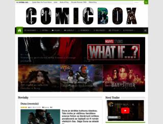 comicbox.eu screenshot
