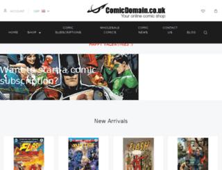 comicdomain.mybigcommerce.com screenshot