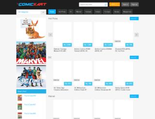 comickart.com screenshot