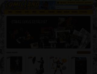 comicland.de screenshot
