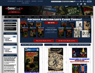 comiclink.com screenshot