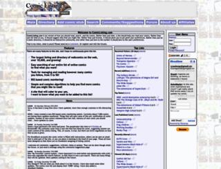 comiclisting.com screenshot
