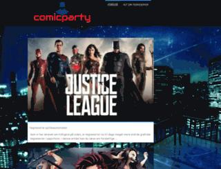 comicparty.dk screenshot