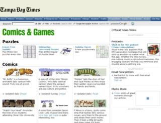 comics.tampabay.com screenshot