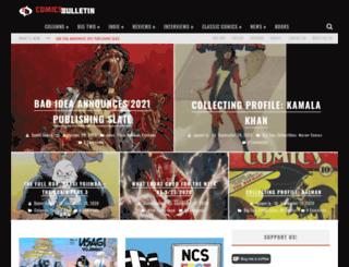 comicsbulletin.com screenshot