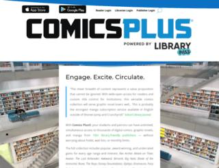 comicsplusapp.com screenshot
