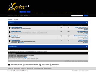comicsplusplus.com screenshot
