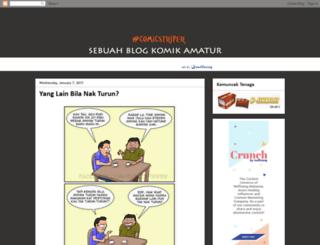 comicstriper.blogspot.com screenshot
