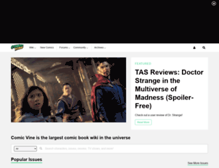 comicvine.com screenshot