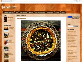 comida-pl.blogspot.de screenshot