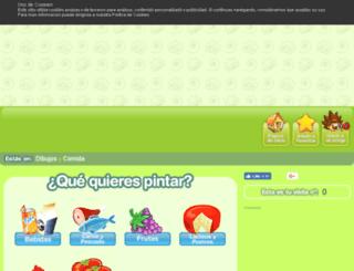 comida.minidibujos.com screenshot