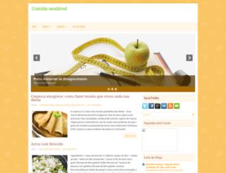 comidabemsaudavel.blogspot.com.br screenshot