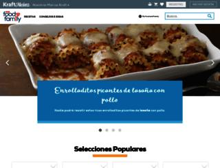 comidakraft.com screenshot