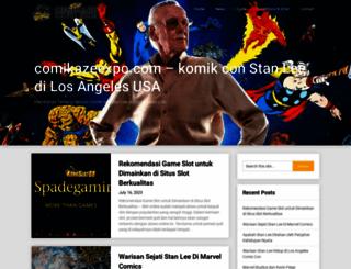 comikazeexpo.com screenshot