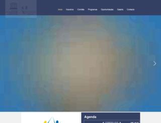 comisionunesco.cr screenshot