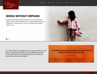 comission.org screenshot