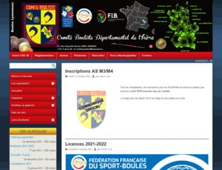 comitebouliste38.com screenshot