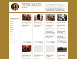comitesolidaridadrojava.wordpress.com screenshot