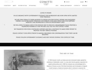 comitti.com screenshot