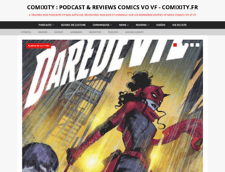 comixity.fr screenshot
