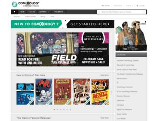 comixology.com screenshot