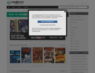 comixology.eu screenshot