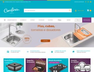 comlines.com.br screenshot