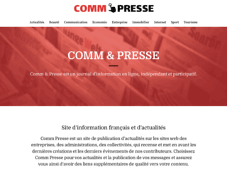 comm-presse.com screenshot